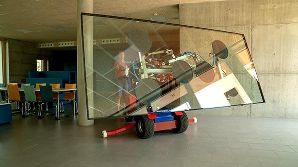 Glaserei Freiburg - Roboter im Einsatz